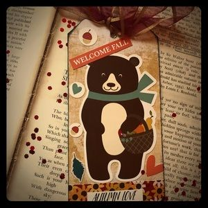 Other - Custom made bookmark/gift tag.